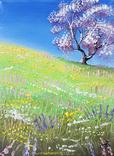 Картина, Весна, 15х20 см. Живопис на полотні, фото №2