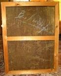 Абстракция Подписана 1956 Масло Холст на подрамнике 62Х47 см, фото №5