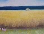 Картина, Український краєвид, 15х20 см. Живопис на полотні, фото №4