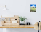 Картина, Хатина на пагорбі, 15х20 см. Живопис на полотні, фото №5