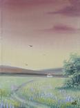 Картина, Дорога до дому, 15х20 см. Живопис на полотні, фото №3