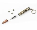 Брелок + фонарь + лазер + шариковая ручка, пуля, фото №7