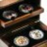 Набор монет Пираты Карибских морей, 4 х 1oz, фото №4