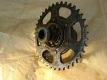 Мотороллер Тулица звездочка колеса защита цепи, фото №5