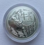 Новинка 2021 Год Быка Лунар от Royal Australian Mint, фото №6