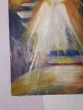 Ангел. Худ. Скляр А. Картон, масло. Размер 30х40 см., фото №5