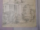 Церковь. Бумага, карандаш. Размер 24х36 см., фото №5