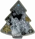"""Ниуэ 2 доллара 2014 """"Рождественская елка"""", фото №2"""