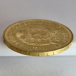 5 песо. 1887. Аргентина (золото 900, вес 8,06 г), фото №7