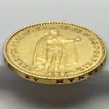 20 крон. 1899. Австро-Венгрия (золото 900, вес 6,77 г), фото №10