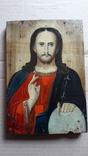 Икона Иисуса Хреста.( дерево).1, фото №2