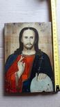 Икона Иисуса Хреста.( дерево).1, фото №12