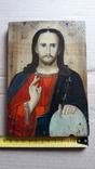 Икона Иисуса Хреста.( дерево).1, фото №13