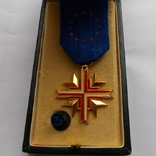 Франция. Крест европейской ассоциации бывших воинов. 1962 г., фото №2