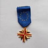 Франция. Крест европейской ассоциации бывших воинов. 1962 г., фото №3