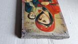 Икона Божьей Матери с Иисусом.( дерево) 3, фото №8