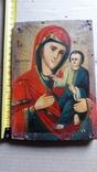 Икона Божьей Матери с Иисусом.( дерево) 3, фото №13