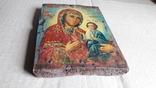Икона Божьей Матери с Иисусом.( дерево) 4., фото №10