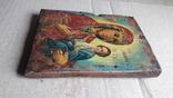 Икона Божьей Матери с Иисусом.( дерево) 4., фото №11