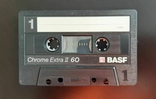 Касета BASF Chrome Extra II 60 (Release year: 1988), фото №4