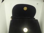 Бархатная сумочка Viytella. Клатч. Италия. 15х15см, фото №9