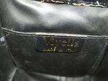 Бархатная сумочка Viytella. Клатч. Италия. 15х15см, фото №12