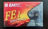 Касета EMTEC FE I 60 (Release year: 1997), фото №2