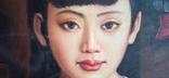 Юная китаянка. 90*60 см., фото №9