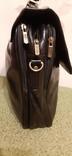 Фирменный портфель, сумка Wittchen, кожа, фото №5