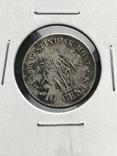 10 центов Датская Вест Индия 1859, фото №3