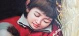 Мама с сыном. Китай. 90*60 см., фото №11