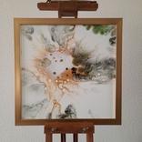 Картина живопис абстракція Fluid Art #54 acrylic, фото №5