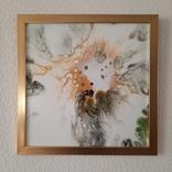 Картина живопис абстракція Fluid Art #54 acrylic, фото №10