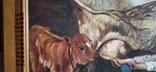 Кухлик молока. 80*50 см. Копия, фото №5