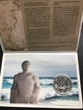 100 эскудо 1987 Португалия серебро Золотой век открытий - Нуну Триштан, фото №4
