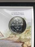 100 эскудо 1987 Португалия серебро Золотой век открытий - Нуну Триштан, фото №5