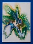Картина/ живопис/ абстракція Fluid Art #59 acrylic, фото №2