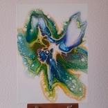 Картина/ живопис/ абстракція Fluid Art #59 acrylic, фото №5