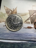 100 эскудо 1989 Португалия серебро Золотой век открытий - Открытие Азорских островов, фото №2