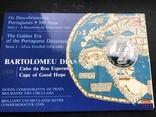 100 эскудо 1988 Португалия серебро Золотой век открытий - Бартоломеу Диаш, фото №3