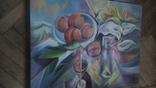 Блюдо с персиками, фото №2