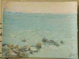 Море. Ранок. Олійний етюд, фото №3
