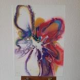 Картина/ живопис/ абстракція Fluid Art #61 acrylic, фото №3