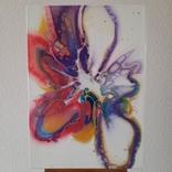 Картина/ живопис/ абстракція Fluid Art #61 acrylic, фото №5