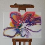 Картина/ живопис/ абстракція Fluid Art #61 acrylic, фото №6