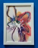 Картина/ живопис/ абстракція Fluid Art #61 acrylic, фото №7