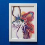 Картина/ живопис/ абстракція Fluid Art #61 acrylic, фото №9