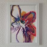 Картина/ живопис/ абстракція Fluid Art #61 acrylic, фото №10