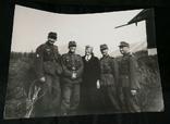 Крупноформатное фото группа солдат 98-й Егерский Полк. 230/170, фото №2