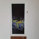 Картина/триптих/ живопис/ абстракція Fluid Art #63 acrylic, фото №7